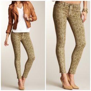 Rich & Skinny Python Print Skinny Jeans